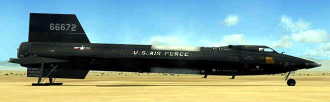 x15 avion militar