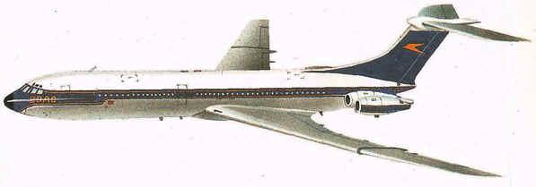 Historia de los Aviones BAC VC 10