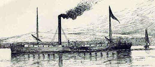 Sena barco a vapor
