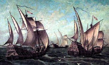 Image result for barcos de la conquista española