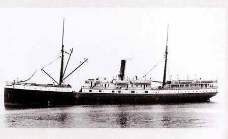 S.S.VALENCIA. HISTORIA DE LOS BARCOS HUNDIDOS -