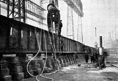 remachadora de barcos