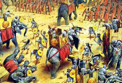 La Batalla de Cannas