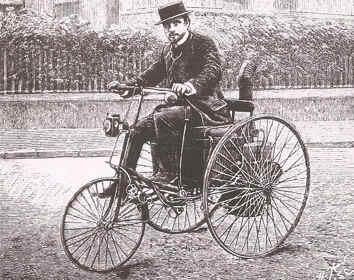 triciclo a vapor
