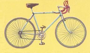 bicicleta años 70