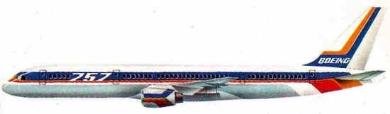 Historia del Boeing 757