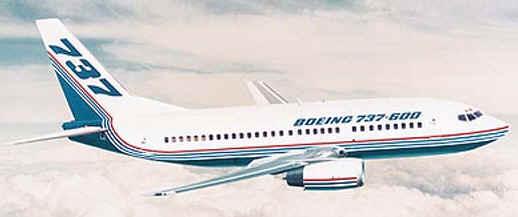 Avión Comercial Boeing 737