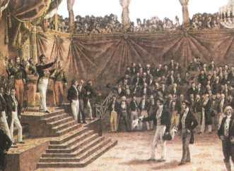 La revolución Francia julio de 1830