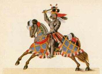 Resultado de imagen de caballero medieval