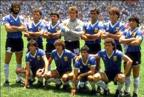 equipo argentino de futbol campeon mundial 1986