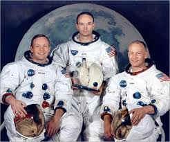 los astronautas del apolo XI