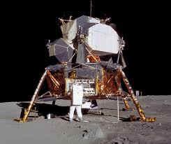 Modulo del Apolo XI sobre la Luna