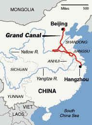 construcción del Gran Canal