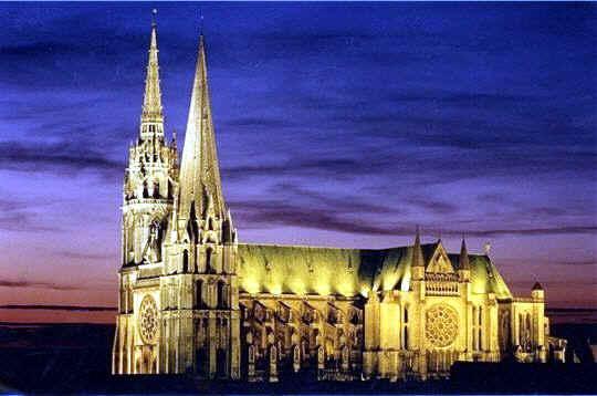Catedral De Chartres Francia Historia Arte Gotico Caracteristicas