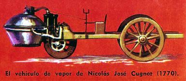 primer auto antiguo a vapor