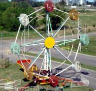 rueda gigante movimiento circular uniforme