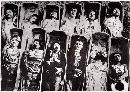 muertos comuna de paris