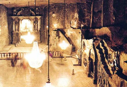 famosa mina Wieliczka