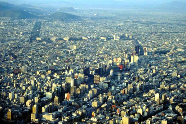 ciudad de México, urbanización
