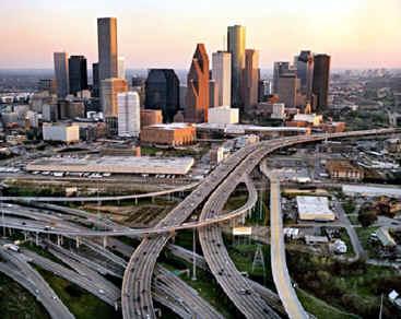 ciudad de Houston, urbanización