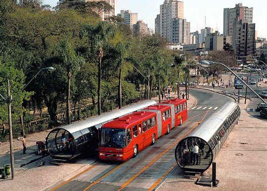 curitiba, urbanización