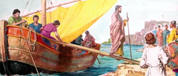 San Patricio desembarca en el año 432 a las costas de Irlanda