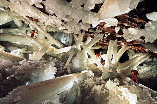 La Cueva de los Cristales Mexico Asombroso Descubrimiento