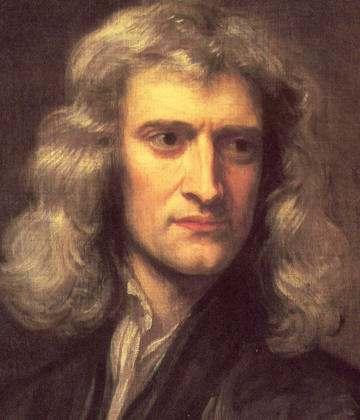 físico ingles Newton