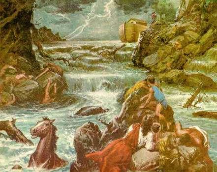 Explicacion Cientifica del Diluvio Universal Historia Arca de Noe