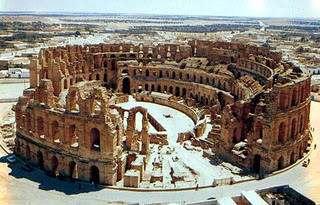 DJEM Anfiteatro Africano Tunez Coliseo Romano en Africa