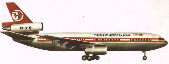 Historia de los Aviones Comerciales Mc Douglas DC 10