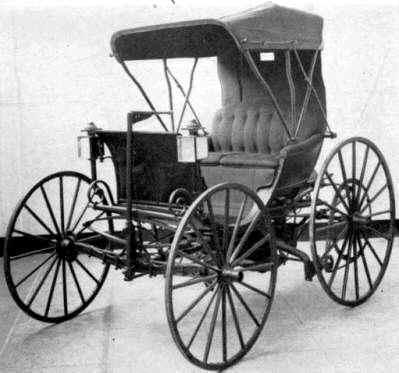 Primer Automovil a Gasolina de estados Unidos