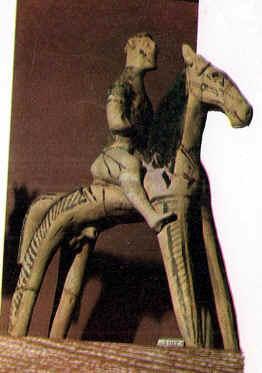 estatua ecuestre:Caballero cretense