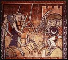 Las Cruzadas, Tapiz de la época