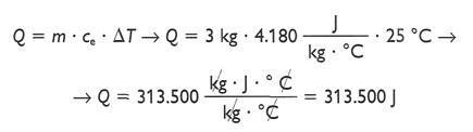 formula cantidad de calor