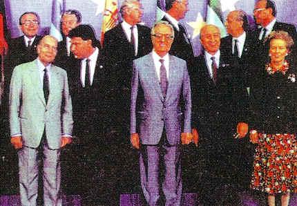 jefes de estado europeo