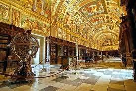 Interior del Monasterio Escorial