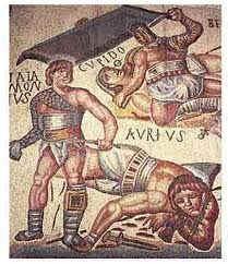 Espartaco en roma antigua  gladiador