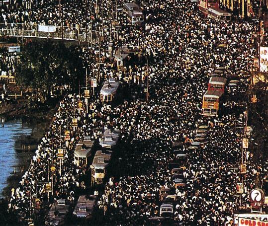 Calcuta, India la poblacion