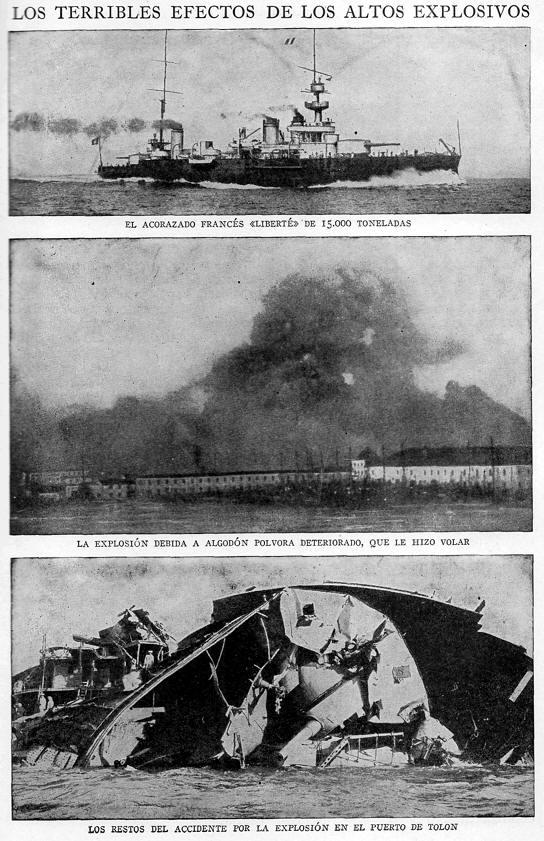 barcos explotados