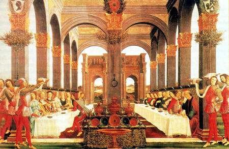 Banquete de bodas.