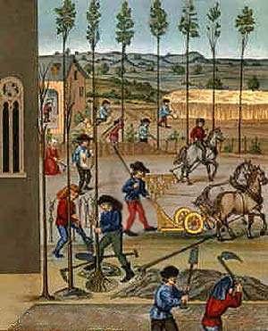 trabajo feudal edad media
