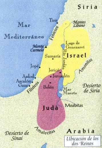mapa palestina antigua