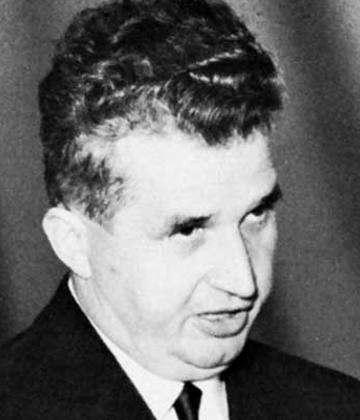 dictador rumano Nicolae Ceaucescu