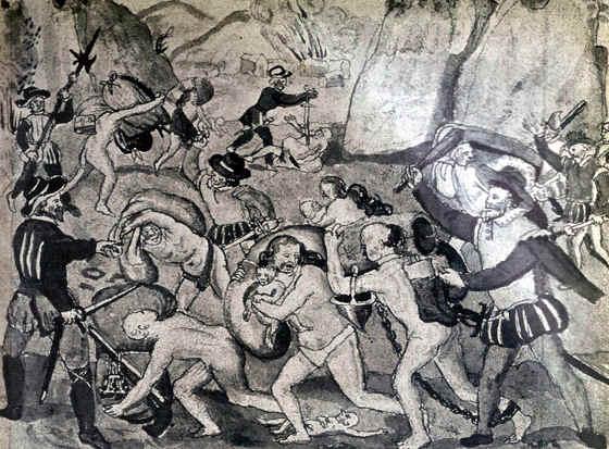 América antes de la llegada de los conquistadores.