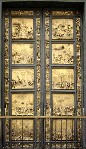 puerta del infierno ghiberti lorenzo