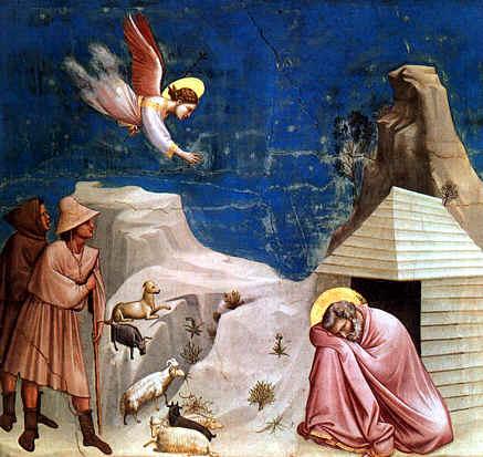 Giotto: El sueño de Joaquín