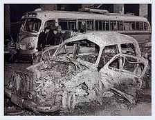 militantes peronistas quemaron la Curia y varias iglesias del centro porteño