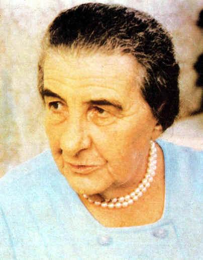 Golda Meir Ministra de Israel