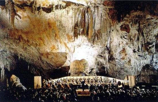 las Cuevas de Postojna.